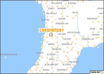 map of Caromañgay
