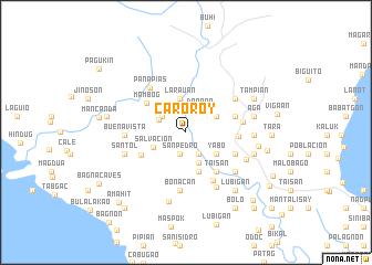 map of Caroroy