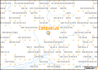 map of Carqueijo