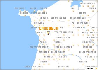 map of Carqueja