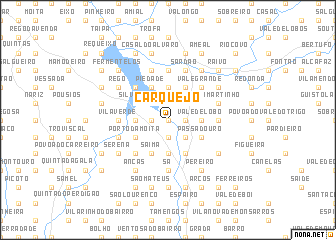 map of Carquejo
