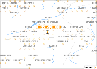 map of Carrasquedo