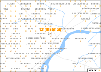 map of Carregado