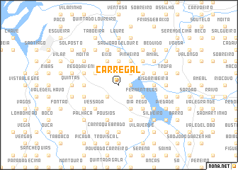 map of Carregal