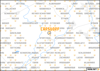 map of Carsdorf