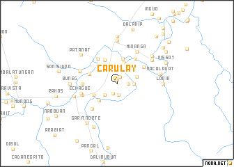 map of Carulay