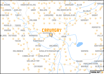 map of Carungay