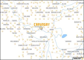 map of Carungay