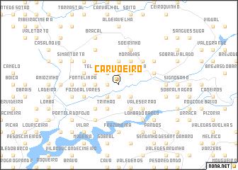 Carvoeiro Portugal Map Nonanet - Portugal map carvoeiro