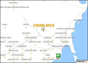 Casa Blanca Spain Map Nona Net