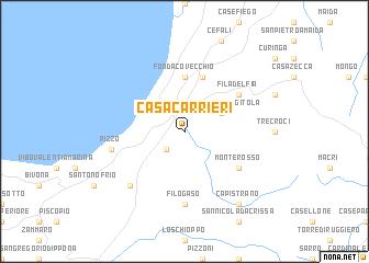 map of Casa Carrieri