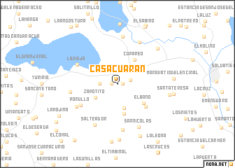 map of Casacuarán