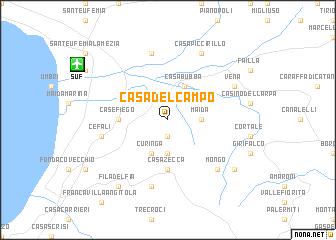 map of Casa del Campo