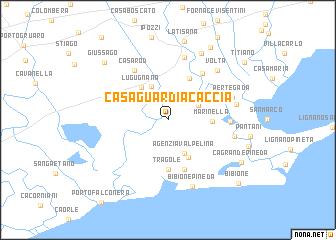 Casa Guardia Caccia Italy Map Nona Net