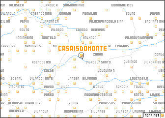 map of Casais do Monte