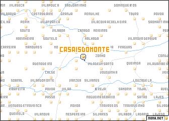 map of Casais do Monte