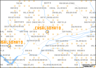 map of Casal do Mato