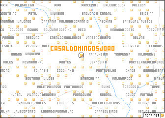 map of Casal Domingos João