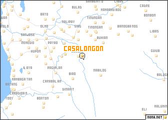 map of Casalongon