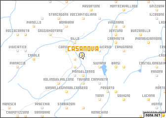 map of Casa Nova