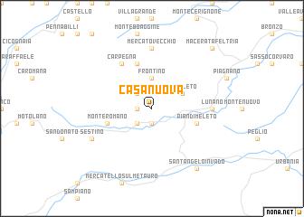 map of Casa Nuova