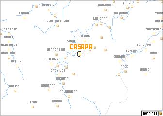 map of Casapa