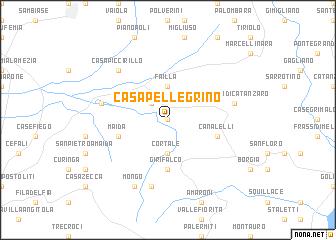 map of Casa Pellegrino