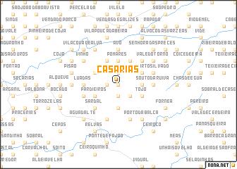 map of Casarias