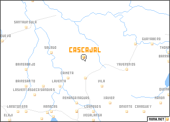map of Cascajal