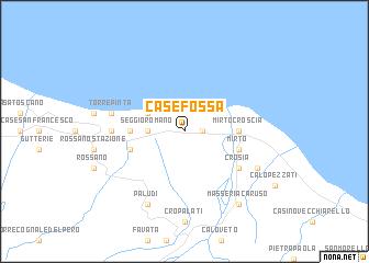map of Case Fossa