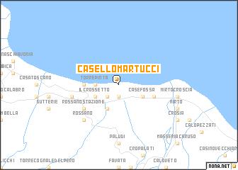 map of Casello Martucci
