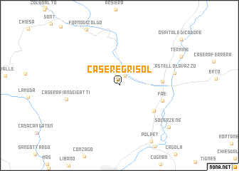 map of Casere Grisol