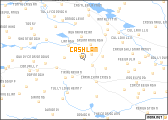 map of Cashlan