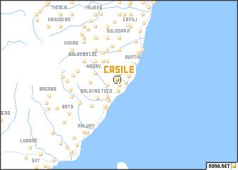 map of Casile