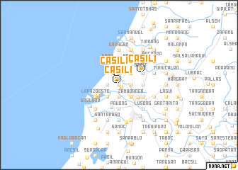 map of Casili