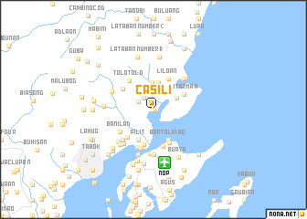 map of Casili