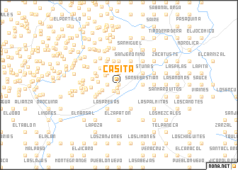 map of Casita