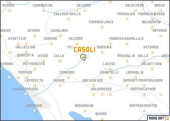 map of Casoli