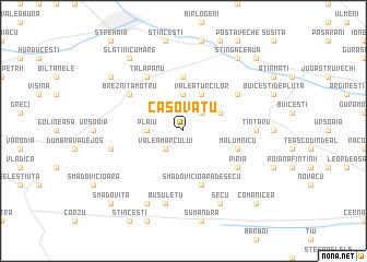 map of Caşovăţu