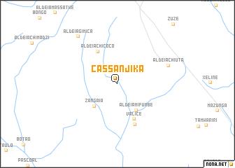 map of Cassanjika