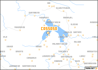 map of Cassasa