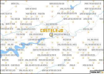 map of Castelejo