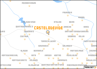 map of Castelo de Vide