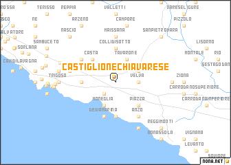 Castiglione Chiavarese (Italy) map   nona.net