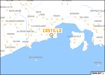 map of Castillo