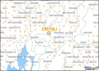 map of Castuli