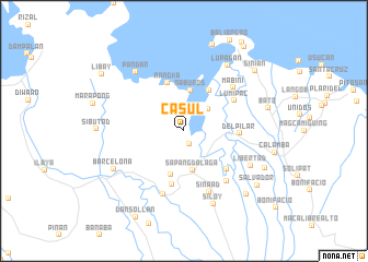 map of Casul