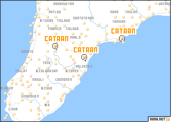 map of Cata-an