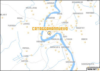 map of Cataggaman Nuevo