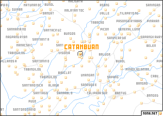 map of Catambuan